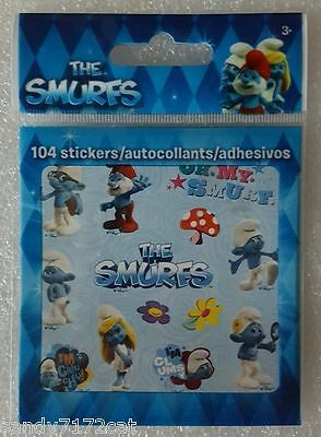 Stickers Smurfs 104 Small Stickers