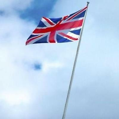 20 FT.VALLEY FORGE ALUMINUM FLAGPOLE WITH 3'x5' UNITED KINGDOM COUNTRY FLAG
