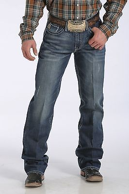 Cinch Jeans MB77737001 Men's Grant Relaxed Mid Rise Bootcut 38X32