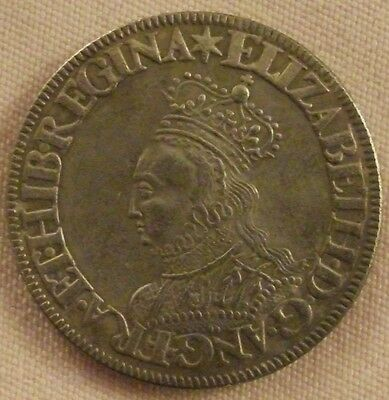 Elizabeth I Shilling, Copy, (FREE UK POSTAGE AVAILABLE)