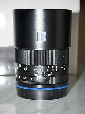 Zeiss Loxia 50mm f/2 Planar T* Lens for Sony E Mount A7, A7R, A7S series