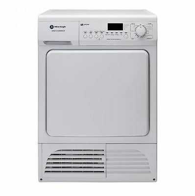 White Knight B96G8W Condenser Tumble Dryer With 8kg Load & B Energy Rating White