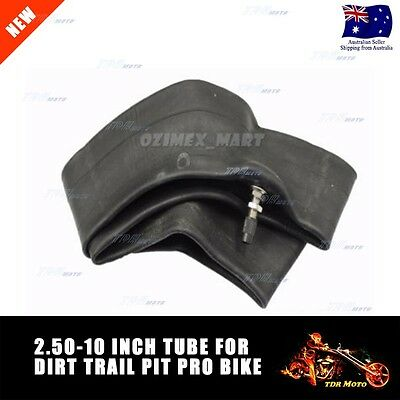 10 Inch Motorcycle Pit Dirt Pro Bike Scooter Tire Wheel Inner Tube 2.5-10 10""