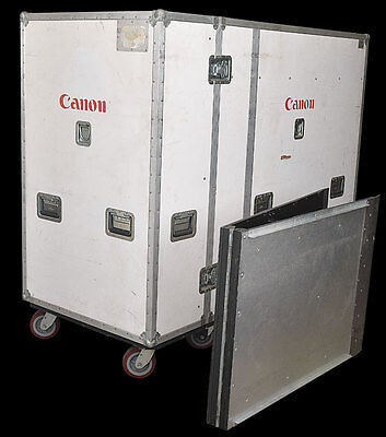 "Anvil Cases 76""x35""x56"" Custom Armorlite Rolling Shipping Case Crate w/ 90"" Ramp"