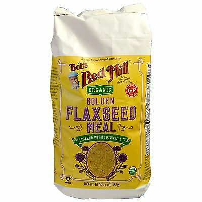 Golden Flaxseed Meal Bobs Red Mill 453 Gm Gluten Free
