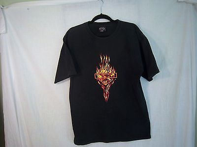 Harley Davidson Dealer Tshirt Cancun Mexico Cutter Fabric Crafts L