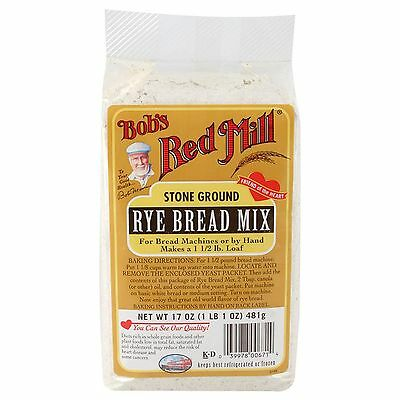 Rye Bread Mix 481 Gm Bobs Red Mill Plents Of Range In Store