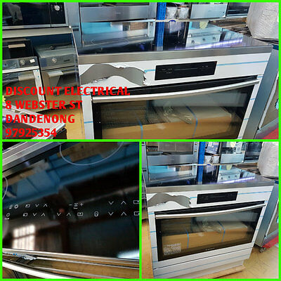 Westinghouse 90cm Electric Freestanding Oven/Stove WFE946SB  RRP$3499