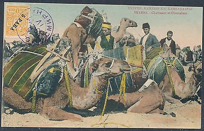 SMYRNE LEVANT TURKEY RUSSIA ROPIT PPC CAMELS attractiv unusual