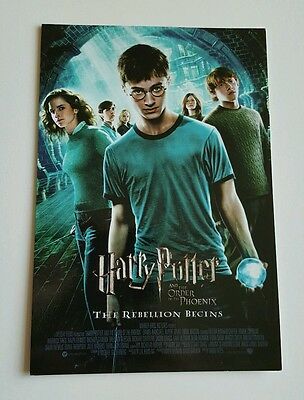 Harry Potter & The Order of the Phoenix Promotional Postcard