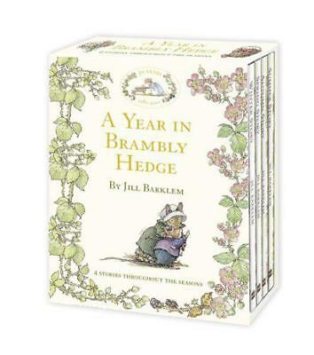 A Year in Brambly Hedge by Jill Barklem   Hardcover Book   9780007371662   NEW