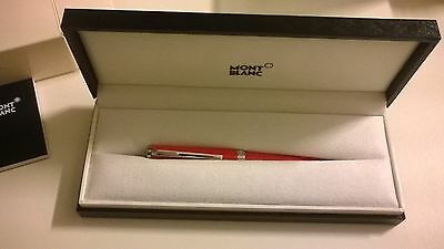 Montblanc Penna a Sfera Cruise Rossa - Red ref 114814