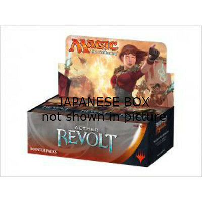 Magic the Gathering Aether Revolt Booster Box JAPANESE
