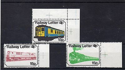 Railway Letter Stamps 1972 MM