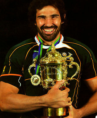 Victor Matfield - South Africa 10X8 Photo (3)