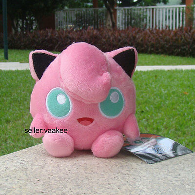Cute Jigglypuff Nintendo Pokemon Center Go Plush Toy Stuffed Animal Soft Doll 5""