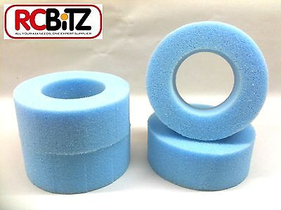 FOAM TYRE INSERTS (4) for RC 1.9 Wheels Tyres eg Tamiya