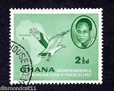 1957 Ghana 2.5d Independence Fine Used R26737