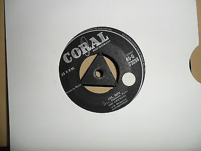 "The Crickets.oh Boy.coral.7"" Vinyl.45Rpm"