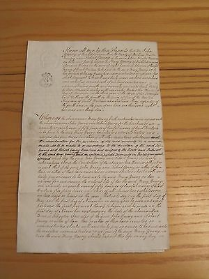 Obligation Bond:  John & Robert Young/Mary Young (Bishopwearmouth) - 1832