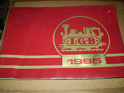 Lehmann Model Railways Toy Catalogue 1985 Edition+ Supplement V Good For Age
