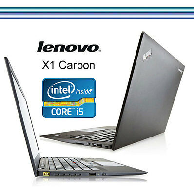 LENOVO X1- CARBON ULTRABOOK  Core i5-3427U 2x300 GHz  8192MB   14,1