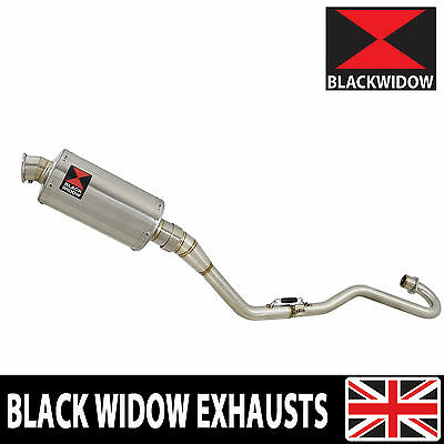 Honda XR 125 L 2003 - 2010 Exhaust System 230mm Oval Stainless Silencer 230SS