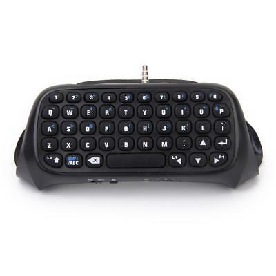 Black Bluetooth V3.0 Wireless Keyboard Keypad for Sony PS4 Controller