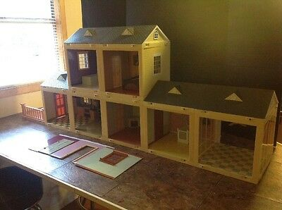 Jazwares Laura Ashley Room By Room Doll House Lights & Sound Bedroom Living 2001