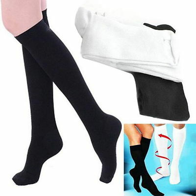 **Unisex Compression Socks Relief for Aching Feet Varicose Veins Flight Travel**