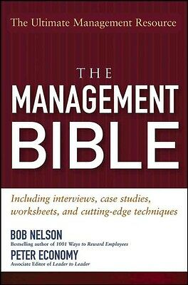 The Management Bible by Bob Nelson Paperback Book (English)