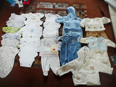 Baby boys clothes aged Newborn Vests and Outfits