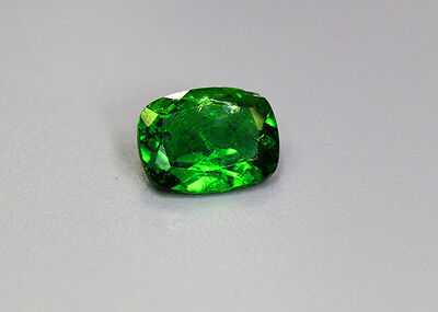 1.36 Cts_Glittering Top Luster_100 % Natural Vivid Green Chrome Diopside_Russia