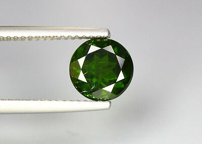 1.78 Cts_Glittering Top Luster_100 % Natural Vivid Green Chrome Diopside_Russia