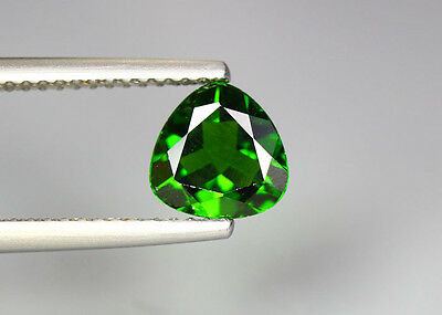 1.21 Cts_Glittering Top Luster_100 % Natural Vivid Green Chrome Diopside_Russia
