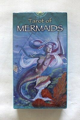 NEW Tarot of Mermaids Deck Cards Lo Scarabeo DISCOUNTED FOR DENTED BOX