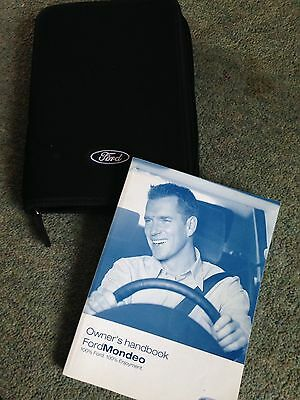 Ford Mondeo Owners Handbook And Wallet