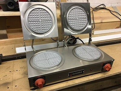 CustomHeat Commercial Belgian Waffle Maker by Croydon