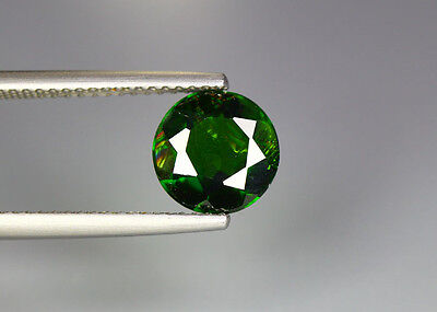 1.76 Cts_Glittering Top Luster_100 % Natural Vivid Green Chrome Diopside_Russia