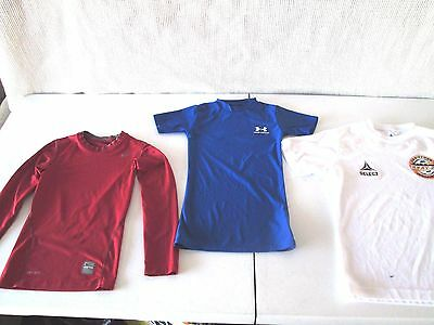 Under Armour / Nike Pro Compression / Select - Youth Small Shirts- One Of Each