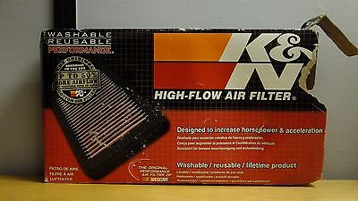 33-3007 K&N HIGH FLOW PERFORMANCE AIR FILTER ELEMENT inc VAT