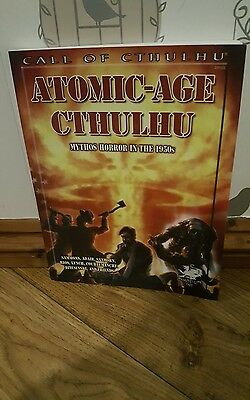 Call of Cthulhu Atomic Age Cthulhu excellent condition Chosium inc Rare 2012