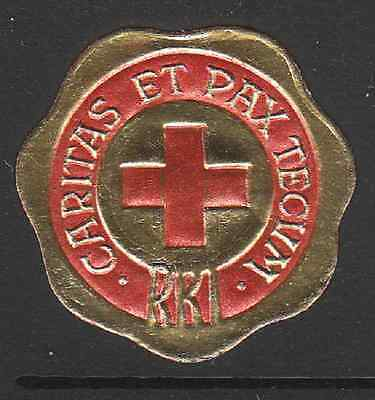 1941 Iceland Red Cross seal