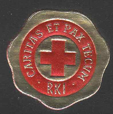 1956 Iceland Red Cross seal