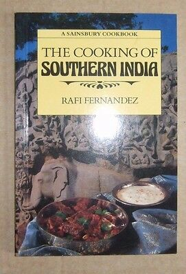 The Cooking of Southern India by Rafi Fenandez - Indian Cookery Book