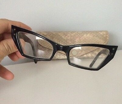 1950s Glasses With Clear Glass