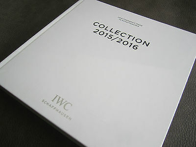 IWC watch CATALOGUE 2015 / 2016 - Genuine Brochure STILL SEALED!
