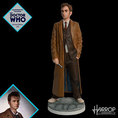 NEW - Tenth Doctor David Tennant - Robert Harrop Doctor Who Figurine - L.E. 250