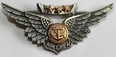 US Navy Air Crew Wings United States America USA