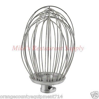 NEW 20 Qt Whip Wire Whisk Hobart Classic Mixer A200 #1110 Stainless Uniworld